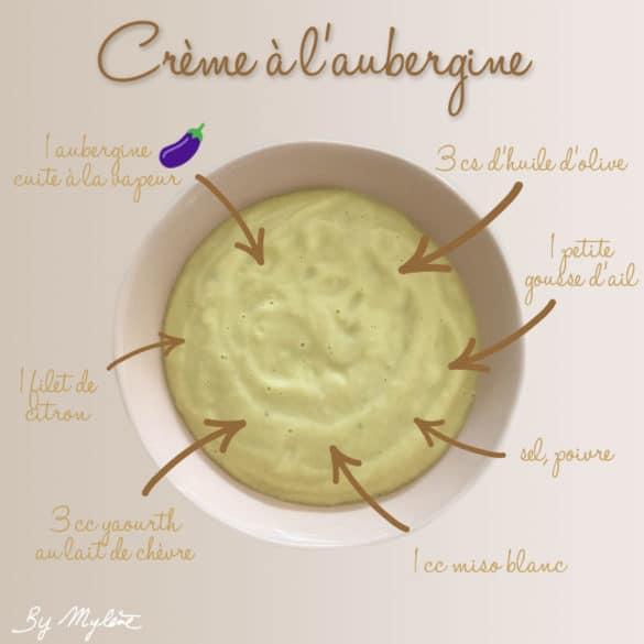 Crème à l'aubergine