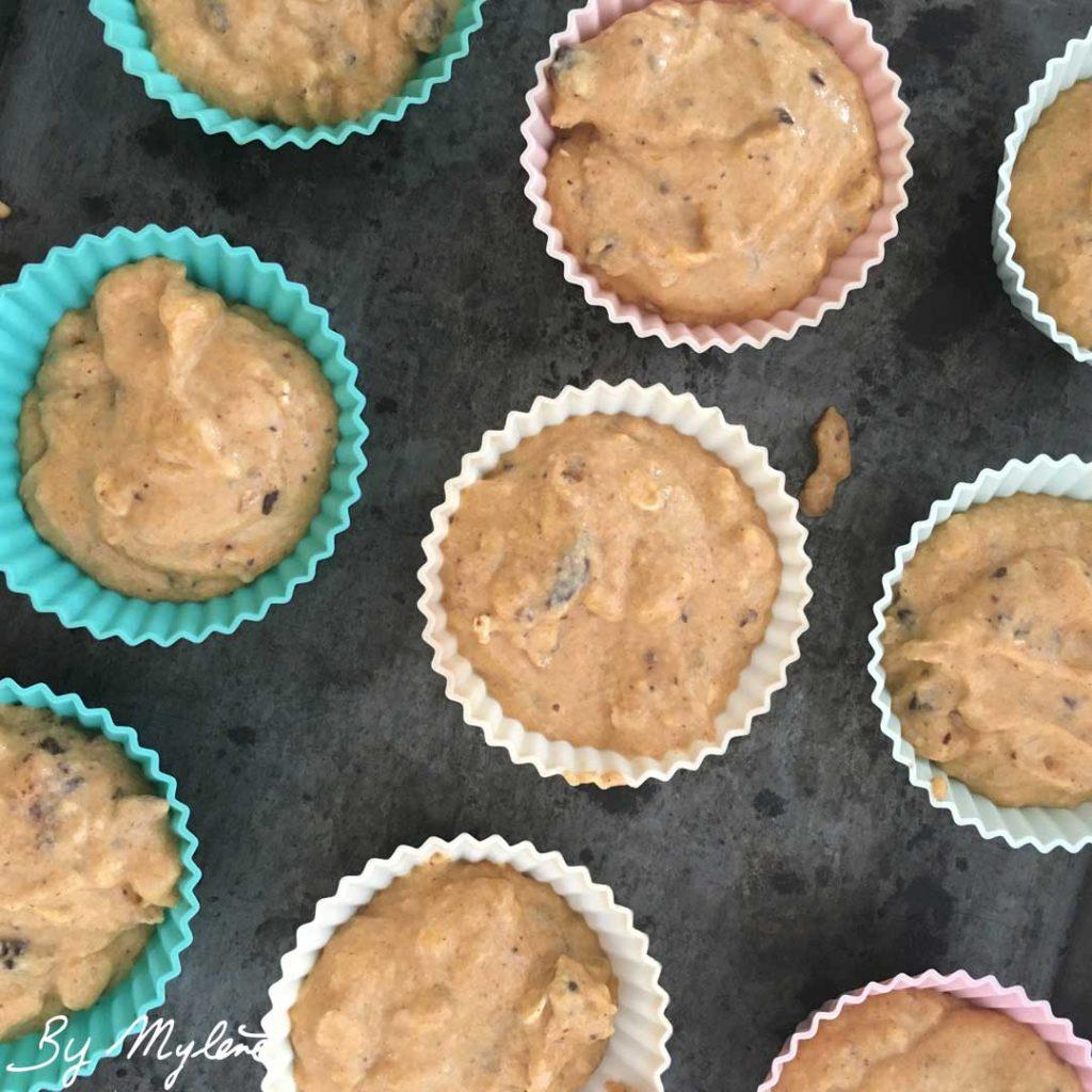 Muffin potiron, étape 5
