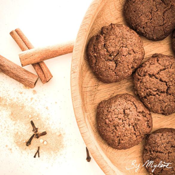 Biscuits aux épices vegan