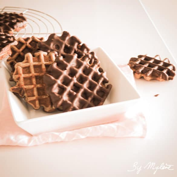 Gaufre sans gluten au chocolat