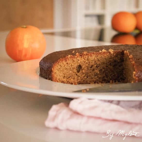 Gâteau Polenta Orange